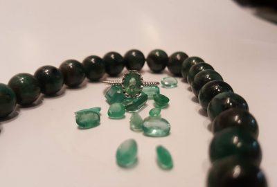 Emerald trong bạc 925