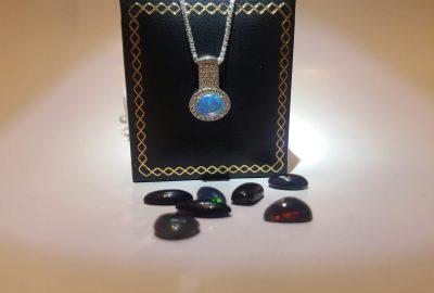 Opal Úc bạc 925