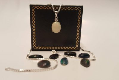 Opal Ấn Độ bạc 925
